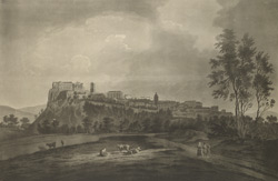 View of the Town and Castle of Stirling, taken near St Ninians 96.c